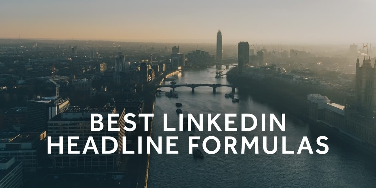 How To Write The Perfect Linkedin Headline 39 Examples