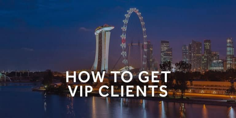How to get high-status vip clients 2