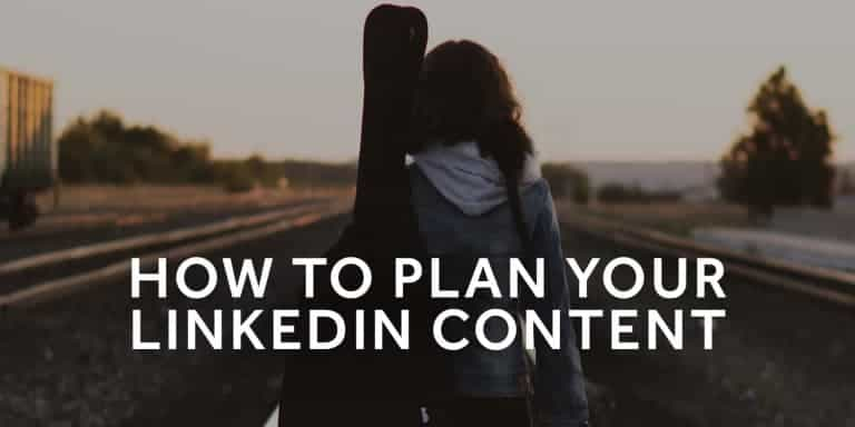 Tim-Queen-How-to-plan-your-linkedin-content
