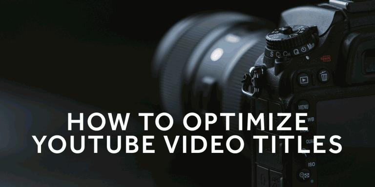 Tim Queen How to optimize your YouTube video titles
