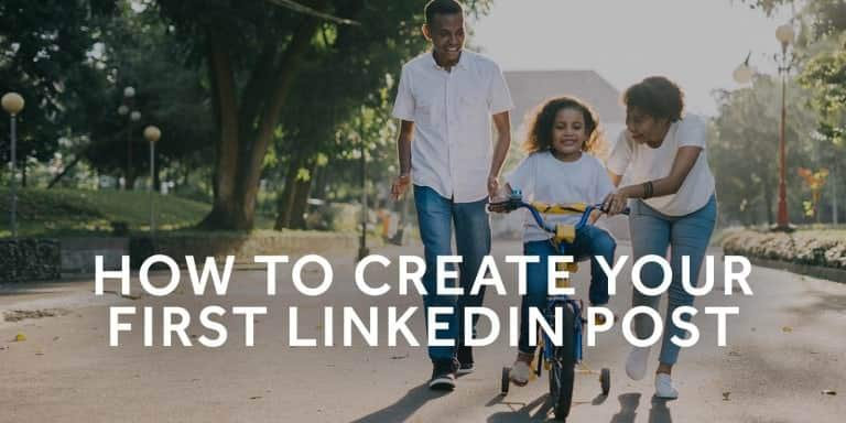 Tim-Queen-How-to-create-your-first-LinkedIn-post
